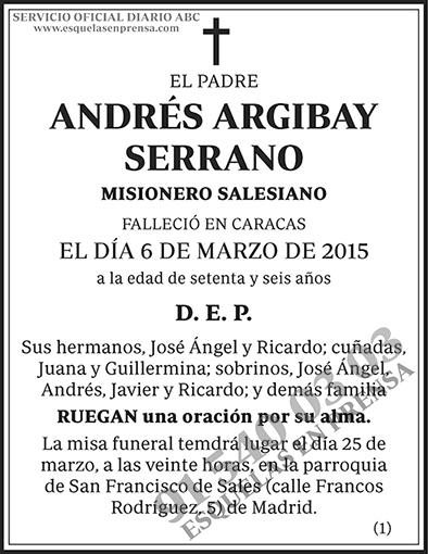 Andrés Argibay Serrano